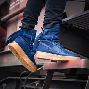 🎇 Nike SF Air Force 1 Midnight Navy